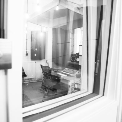 Live room window - Unit Studios